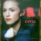 The Making Of Evita 1996 Alan Parker softbound book Madonna