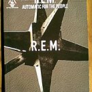 R.E.M. 1994 AUTOMATIC FOR THE PEOPLE GUITAR TAB MUSIC SONG BOOK