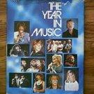 The Year In Music 1979 Columbia House hardback book Judith Glassman
