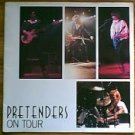The Pretenders 1981 concert tour book program Chrissie Hynde
