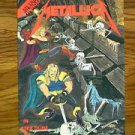 METAL THUNDER VOLUME 2 NUMBER 2 JULY 1992 METALLICA FIRST PRINT COMIC BOOK