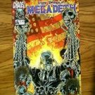 CHAOS! COMICS CRYPTIC WRITINGS OF MEGADETH NUMBER 4 JUNE 1998 FIRST PRINT COMIC BOOK