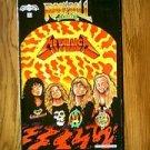 REVOLUTIONARY ROCK N ROLL COMICS VOLUME 1 NUMBER 2 AUGUST 1989 METALLICA SECOND PRINT COMIC BOOK