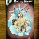 ROCK FANTASY VOLUME 2 JANUARY 1990 ROLLING STONES FIRST PRINT COMIC BOOK