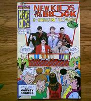 NEW KIDS ON THE BLOCK HANGIN TOUGH FEB. 1991 #1 FIRST PRINT COMIC BOOK HARVEY ROCKOMICS NKOTB