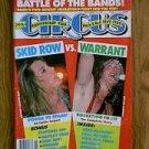 Circus music magazine Nov. 30 1989 Skid Row vs. Warrant Sebastian Bach R.I.P. Jani Lane