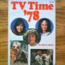 TV Time 1978 book Peggy Herz + 1971 TV Favorites by Linda Beech Wonder Woman Bugaloos Dark Shadows