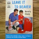 VINTAGE LEAVE IT TO BEAVER 1960 BERKLEY BOOK BEVERLY CLEARY
