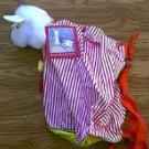 Llama In Pajamas plush book bag Museum of Fine Arts Boston