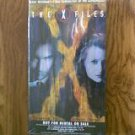 The X Files 1997 VHS video Clyde Bruckman's Final Repose/War Of The Coprophages sealed new
