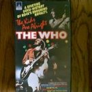 THE WHO THE KIDS ARE ALRIGHT 1979 VHS VIDEO
