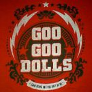 GOO GOO DOLLS SOMETHING FOR THE REST OF US SHIRT 2010 LARGE