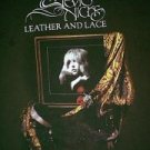 Stevie Nicks Leather And Lace 2005 brown concert tour shirt xl