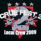 Motley Crue Crue Fest 2 local crew 2009 tour concert shirt xl