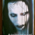 Marilyn Manson book The Long Hard Road Out Of Hell 1998 first edition hardback