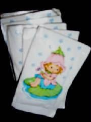 AVON LITTLE BLOSSOM BUBBLE BATH PACKETS (9)