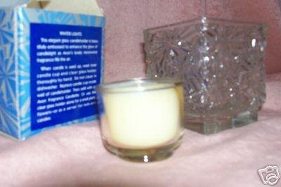 AVON WINTER LIGHTS MOONWIND FRAGRANCE CANDLE