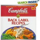 CAMPBELL'S BACK LABEL RECIPES AND MORE