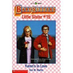 BABYSITTERS CLUB LITTLE SISTER #15 KAREN'S IN LOVE