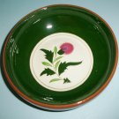 Stangl Thistle 8 Inch Serving Bowl Vintage Veggie Vegetable Serving Bowl Made in NJ USA