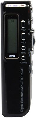 DIGITAL VOICE/TELEPHONE RECORDER WITH MP3 PLAYER FUNCTION