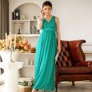 Free Shipping ladies fashion dress beaded chiffon plus size evening gown dress D2J634G