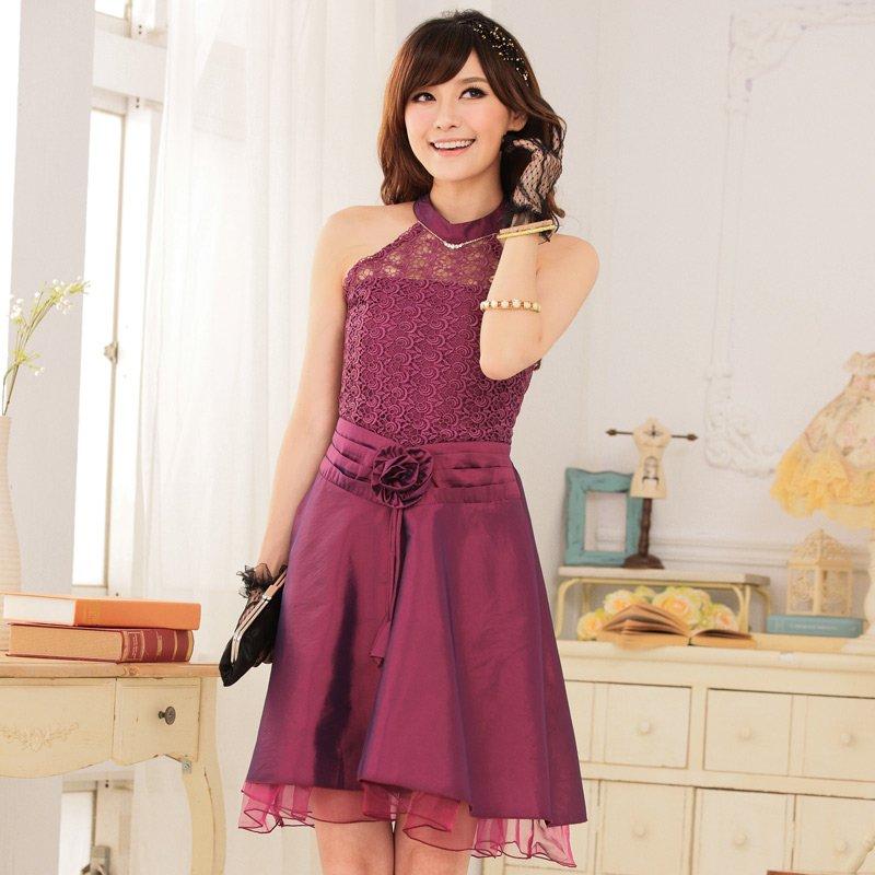 Free Shipping The new style women's dress elegant princess lace dress  D2J646P