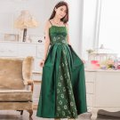 Free Shipping Women suspenders strapless evening gown plus size dress D2J660Gn