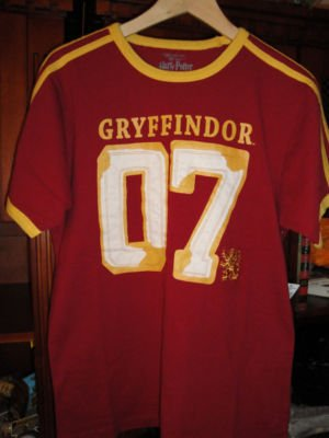 Wizarding World Of Harry Potter Quidditch Jersey T