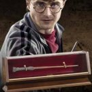 Collectors Edition HARRY POTTER BRONZE WAND With Museum Quality Display Case