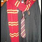 Wizarding World Harry Potter GRYFFINDOR STUDENT COSTUME Halloween Movie Quality