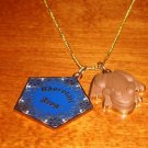 CHOCOLATE FROG 14k GOLD NECKLACE Wizarding World of Harry Potter Universal