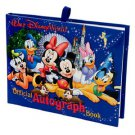 Official Walt Disney World Resort Hardcover Autograph Book Mickey Mouse