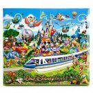 Walt Disney World Storybook Scrapbook Photo Album Kit  Mickey Mouse 12x12