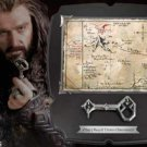 Map and Key of Thorin Oakenshield Hobbit Noble Collection