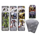 Transformers Battle Cards Playing Card Game Universal Studios Exclusive