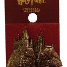 Wizarding World of Harry Potter Hogwarts Castle Relief Pin Universal Studios
