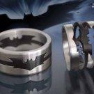 Batman Puzzle Ring Noble Collection Dark Knight Rises Batman Begins