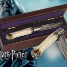 Harry Potter Albus Dumbledore Folding Knife With Collectors Case Prop Replica