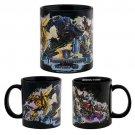 Transformers The Ride 3D Mug Universal Studios Optimus Bumblebee Decepticons