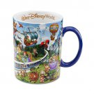 Walt Disney World Storybook Large Coffee Mug Attractions Mickey and Friends