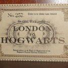 Harry Potter Hogwarts Express Train Ticket Prop Replica 9 3/4 Wizarding World