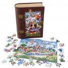 Walt Disney World Storybook 750 Piece Puzzle With Book Case Magic Kingdom