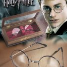 Harry Potter Glasses Prop Replica With Display Case Gift Set Noble Collection