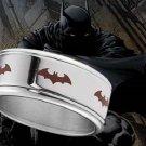 Batman Spinning Ring DC Dark Knight Rises Batman Begins Steel Noble Collection