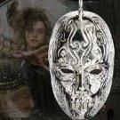 Bellatrix Lestrange Death Eater Mask Necklace Pendant Harry Potter