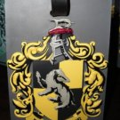 Wizarding World of Harry Potter Hufflepuff PVC Luggage Tag Universal