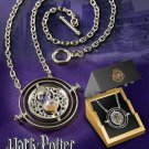 Harry Potter Sterling Silver Time Turner Necklace Noble Hermione Gift Box