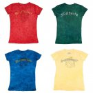 Harry Potter Choice of House Ladies Fitted Babydoll T Shirt