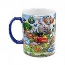 Storybook Large Coffee Mug Mickey and Friends Walt Disney World